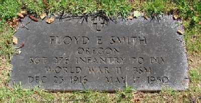 SMITH (WWII), FLOYD E - Marion County, Oregon | FLOYD E SMITH (WWII) - Oregon Gravestone Photos