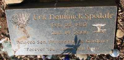 SPEDALE, ERIC DOMINICK - Marion County, Oregon   ERIC DOMINICK SPEDALE - Oregon Gravestone Photos
