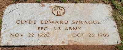 SPRAGUE (SERV), CLYDE EDWARD - Marion County, Oregon | CLYDE EDWARD SPRAGUE (SERV) - Oregon Gravestone Photos