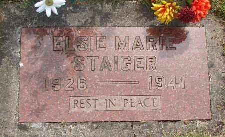 STAIGER, ELSIE MARIE - Marion County, Oregon | ELSIE MARIE STAIGER - Oregon Gravestone Photos