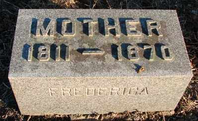 STAIGER, FREDERICA BARBARA - Marion County, Oregon | FREDERICA BARBARA STAIGER - Oregon Gravestone Photos