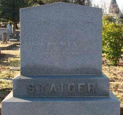 STAIGER, SUSAN - Marion County, Oregon | SUSAN STAIGER - Oregon Gravestone Photos