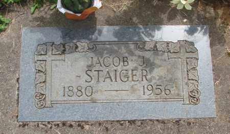 STAIGER, JACOB J - Marion County, Oregon | JACOB J STAIGER - Oregon Gravestone Photos