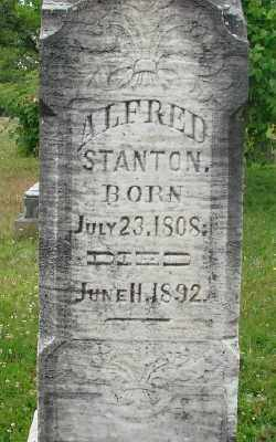 STANTON, ALFRED - Marion County, Oregon | ALFRED STANTON - Oregon Gravestone Photos