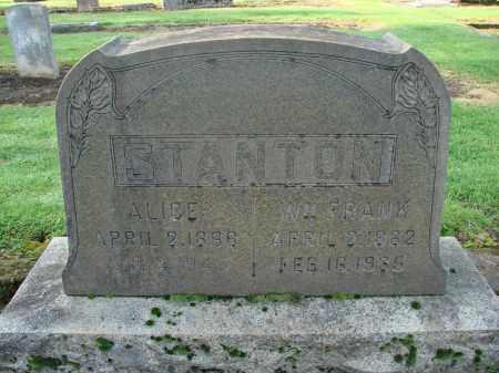 STANTON, ALICE - Marion County, Oregon | ALICE STANTON - Oregon Gravestone Photos