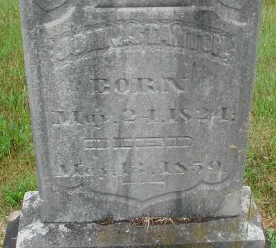STANTON, JOHN B - Marion County, Oregon   JOHN B STANTON - Oregon Gravestone Photos