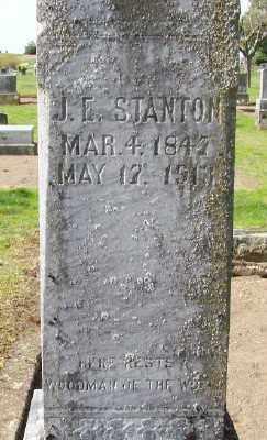 STANTON, JOHN E - Marion County, Oregon | JOHN E STANTON - Oregon Gravestone Photos