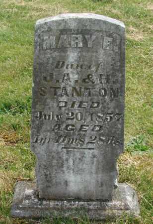 STANTON, MARY E - Marion County, Oregon | MARY E STANTON - Oregon Gravestone Photos