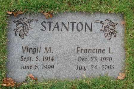STANTON, FRANCINE L - Marion County, Oregon | FRANCINE L STANTON - Oregon Gravestone Photos