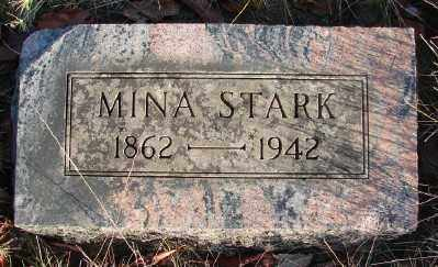 STARK, MINA - Marion County, Oregon   MINA STARK - Oregon Gravestone Photos