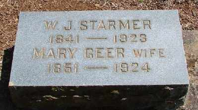 GEER STARMER, MARY HULDA - Marion County, Oregon | MARY HULDA GEER STARMER - Oregon Gravestone Photos