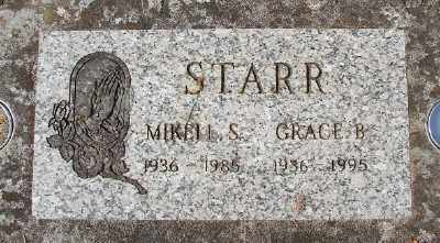 STARR, MIKELL S - Marion County, Oregon | MIKELL S STARR - Oregon Gravestone Photos