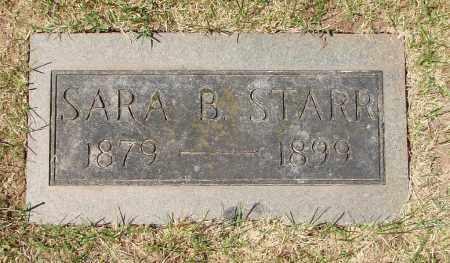 STARR, SARA B - Marion County, Oregon | SARA B STARR - Oregon Gravestone Photos