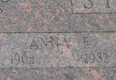 STEINER, ANNA E - Marion County, Oregon | ANNA E STEINER - Oregon Gravestone Photos