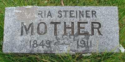 STEINER, MARIA - Marion County, Oregon | MARIA STEINER - Oregon Gravestone Photos