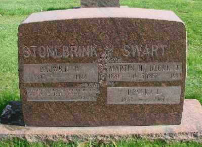 STONEBRINK, BAUWKJE H - Marion County, Oregon | BAUWKJE H STONEBRINK - Oregon Gravestone Photos