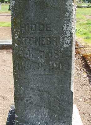 STONEBRINK, HEDDE - Marion County, Oregon | HEDDE STONEBRINK - Oregon Gravestone Photos
