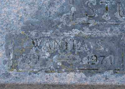 SCOTT, WANITA - Marion County, Oregon | WANITA SCOTT - Oregon Gravestone Photos