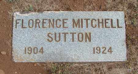 MITCHELL SUTTON, FLORENCE EMMA - Marion County, Oregon | FLORENCE EMMA MITCHELL SUTTON - Oregon Gravestone Photos