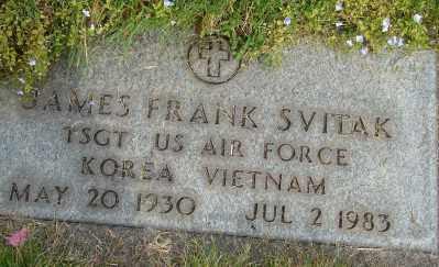 SVITAK (KOR), JAMES FRANK - Marion County, Oregon | JAMES FRANK SVITAK (KOR) - Oregon Gravestone Photos