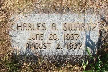 SWARTZ, CHARLES ARTHUR - Marion County, Oregon | CHARLES ARTHUR SWARTZ - Oregon Gravestone Photos