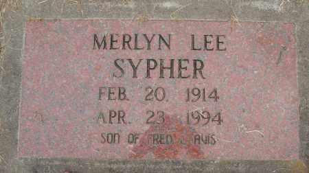 SYPHER, MERLYN LEE - Marion County, Oregon | MERLYN LEE SYPHER - Oregon Gravestone Photos