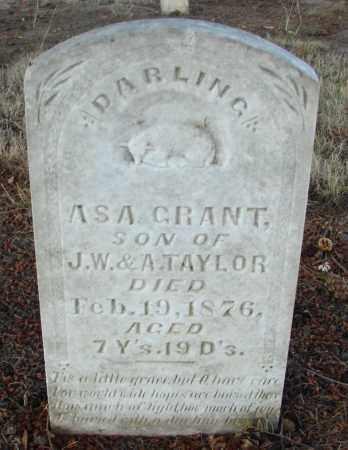 TAYLOR, ASA GRANT - Marion County, Oregon   ASA GRANT TAYLOR - Oregon Gravestone Photos