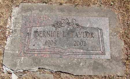 TAYLOR, BERNICE L - Marion County, Oregon | BERNICE L TAYLOR - Oregon Gravestone Photos