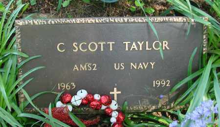 TAYLOR, C SCOTT - Marion County, Oregon | C SCOTT TAYLOR - Oregon Gravestone Photos