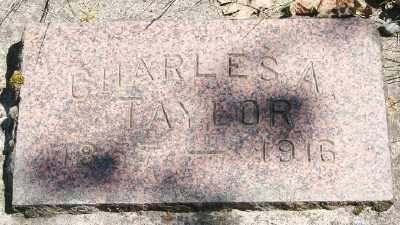 TAYLOR, CHARLES A - Marion County, Oregon | CHARLES A TAYLOR - Oregon Gravestone Photos