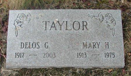 TAYLOR, DELOS G - Marion County, Oregon | DELOS G TAYLOR - Oregon Gravestone Photos