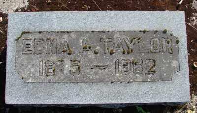 TAYLOR, EDNA A - Marion County, Oregon   EDNA A TAYLOR - Oregon Gravestone Photos