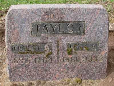 TAYLOR, LENA A - Marion County, Oregon | LENA A TAYLOR - Oregon Gravestone Photos