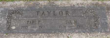 TAYLOR, IVA M - Marion County, Oregon | IVA M TAYLOR - Oregon Gravestone Photos