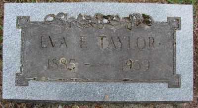 TAYLOR, EVA E - Marion County, Oregon   EVA E TAYLOR - Oregon Gravestone Photos