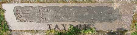 TAYLOR, FRED A - Marion County, Oregon | FRED A TAYLOR - Oregon Gravestone Photos