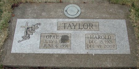 TAYLOR, HAROLD RAY - Marion County, Oregon | HAROLD RAY TAYLOR - Oregon Gravestone Photos
