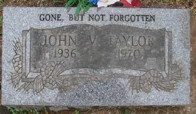 TAYLOR, JOHN V - Marion County, Oregon | JOHN V TAYLOR - Oregon Gravestone Photos