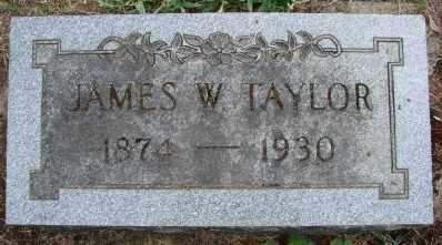 TAYLOR, JAMES W - Marion County, Oregon | JAMES W TAYLOR - Oregon Gravestone Photos
