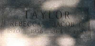 TAYLOR, REBECCA - Marion County, Oregon | REBECCA TAYLOR - Oregon Gravestone Photos