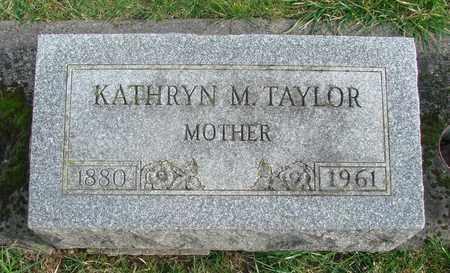 TAYLOR, KATHRYN M - Marion County, Oregon | KATHRYN M TAYLOR - Oregon Gravestone Photos