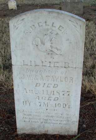 TAYLOR, LILLIE BELLE - Marion County, Oregon | LILLIE BELLE TAYLOR - Oregon Gravestone Photos