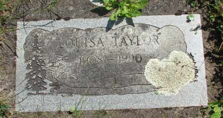 TAYLOR, LOUISA - Marion County, Oregon   LOUISA TAYLOR - Oregon Gravestone Photos