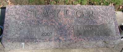 TAYLOR, LLOYD A - Marion County, Oregon   LLOYD A TAYLOR - Oregon Gravestone Photos