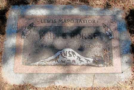 TAYLOR, LEWIS MAPO - Marion County, Oregon | LEWIS MAPO TAYLOR - Oregon Gravestone Photos