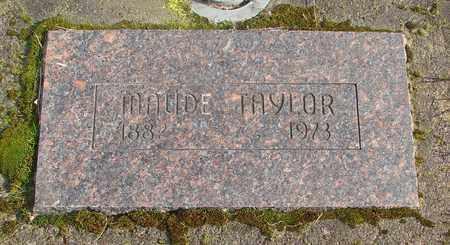 TAYLOR, MAUDE - Marion County, Oregon | MAUDE TAYLOR - Oregon Gravestone Photos