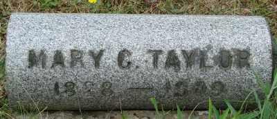 TAYLOR, MARY C - Marion County, Oregon   MARY C TAYLOR - Oregon Gravestone Photos