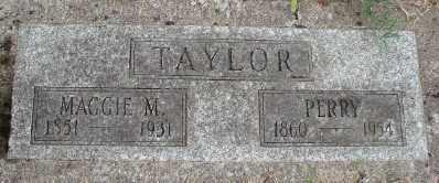 TAYLOR, PERRY - Marion County, Oregon   PERRY TAYLOR - Oregon Gravestone Photos