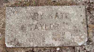TAYLOR, MARY KATE - Marion County, Oregon | MARY KATE TAYLOR - Oregon Gravestone Photos