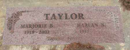 TAYLOR, MARJORIE B - Marion County, Oregon | MARJORIE B TAYLOR - Oregon Gravestone Photos